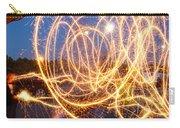 Painting With Sparklers Carry-all Pouch by Gordon Dean II