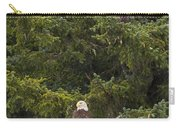 Pair Of Bald Eagles Carry-all Pouch by Darcy Michaelchuk