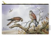 Pair Of Kestrels Carry-all Pouch