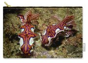 Pair Of Miamira Magnifica Nudibranch Carry-all Pouch