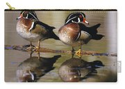 Pair Of Wild Birds Carry-all Pouch