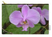 Pale Pink Orchid Carry-all Pouch