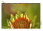 Pale Purple Coneflower Bud Carry-all Pouch