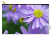 Pastel Purple Aster Carry-all Pouch