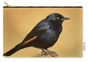 Pale-winged Starling Carry-all Pouch