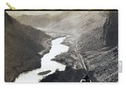 Palisades Railroad View - California - C 1865 Carry-all Pouch