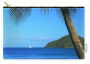 Palm Shaded Island Beach  Carry-all Pouch