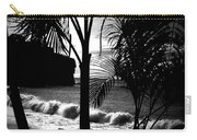 Palm Tree Silouette Carry-all Pouch