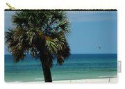 Palmetto And The Beach Carry-all Pouch