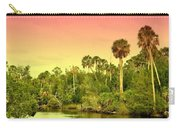 Palms In Twilight Carry-all Pouch
