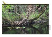Palms On The River Carry-all Pouch