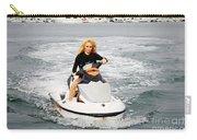 Pamela Anderson Is A Jet Ski Vixen Carry-all Pouch
