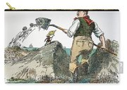 Panama Canal Cartoon Carry-all Pouch