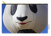 Panda Bear Hot Air Balloon Carry-all Pouch