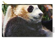 Panda In Tree Carry-all Pouch