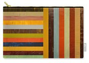 Panel Abstract - Digital Compilation Carry-all Pouch by Michelle Calkins