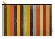 Panel Abstract Lll  Carry-all Pouch by Michelle Calkins