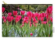 Panel Of Pink Tulips Carry-all Pouch