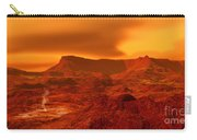 Panorama Of A Landscape On Venus At 700 Carry-all Pouch