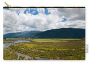 Panorama Of Waiau River Wetland South New Zealand Carry-all Pouch