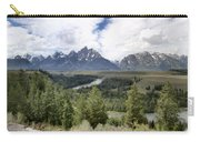 Panorama Snake River Grand Teton Carry-all Pouch