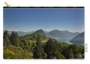 Panorama View Over Mountain Carry-all Pouch