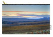 Panoramic At Sunset Along The Dempster Carry-all Pouch