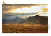 Panoramic Image Of Late Afternoon Carry-all Pouch