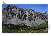 Panoramic Of Hikers On Kersarge Lake Carry-all Pouch