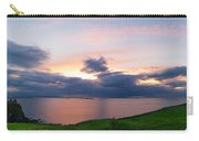 Panoramic View From Dunluce Castle Carry-all Pouch