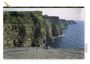 Panoramic View Of Cliffs, Cliffs Of Carry-all Pouch