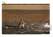 Panoramic View Of Mars Carry-all Pouch