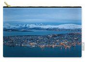 Panoramic View Of Tromso In Norway  Carry-all Pouch