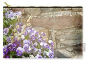 Pansies And Pussywillows Carry-all Pouch