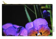 Pansy 5 Carry-all Pouch