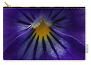 Pansy Abstract Carry-all Pouch