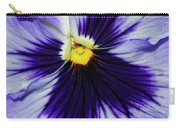 Pansy Closeup Carry-all Pouch