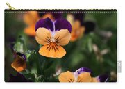 Pansy Garden Carry-all Pouch