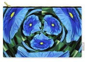 Pansy In Triplicate Carry-all Pouch