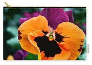 Pansy Power Carry-all Pouch