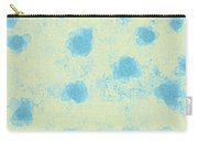 Paper Flowers - Aqua Carry-all Pouch