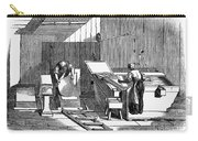Papermaking, 1833 Carry-all Pouch by Granger