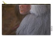 Papio Hamadryas Baboon Carry-all Pouch