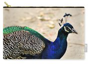 Parading Peacock Carry-all Pouch