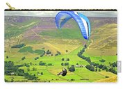 Paragliding Off Mam Tor 01 Carry-all Pouch