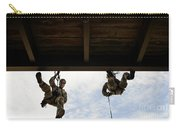Pararescuemen Take Part In A Rappelling Carry-all Pouch