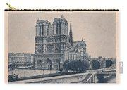 Paris - Notre Dame Carry-all Pouch