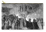 Paris: Burning Of Heretics Carry-all Pouch