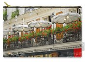Paris Cafe Carry-all Pouch by Elena Elisseeva