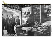Paris: Chestnut Vendor Carry-all Pouch